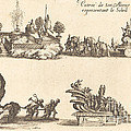 Entry Of His Highness, Representing The Sun by Jacques Callot