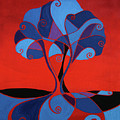Enveloped In Red by Barbara Rush