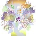 Enviro-web Florescence II by Allan Cameron