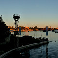 Epcot At Dusk by Nora Martinez