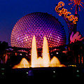 Epcot At Night by Tommy Anderson