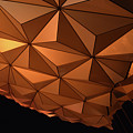 Epcot Geodesic Dome I I I by Paulette B Wright