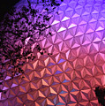 Epcot Geodesic Dome I I by Paulette B Wright