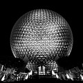 Epcot In Black And White by Guy Thompson