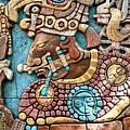 Epcot Mayan Warrior by Nora Martinez