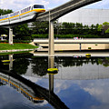 Epcot Reflections by David Lee Thompson