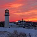 Epic Sunset At Highland Light by Amazing Jules