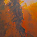 Epsilon Eridani A Stellar Spire In Eagle Nebula by Jim Ellis