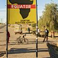 Equator In Kenya by Marek Poplawski