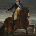 Equestrian Portrait Of Fernando Vii by Francisco Goya