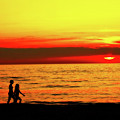 Erie Beach Sunset by Randy Steele
