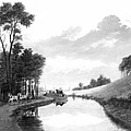 Erie Canal, 1837 by Granger