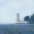 Erie Light House by Ian  MacDonald