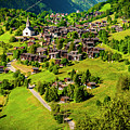 The Alpine Village Of Ernen In Switzerland  by Jason Yoon