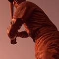 Ernie Banks Sculpture by Sven Brogren
