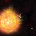 Eruption - Solar Storm by Michal Boubin