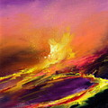 Eruption By Night by Sally Seago