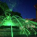 Eruption Of Green Waters, Sofia by Alfio Finocchiaro
