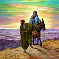 Escape Into Egypt by John Lautermilch