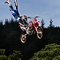 Escaping Motorbike by Angel Ciesniarska