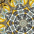 Escher Glass Kaleido Abstract #4 by Peter J Sucy