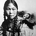 Eskimo Woman And Child by Granger