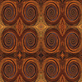 Essence Of Rust - Tiled by Sue Duda