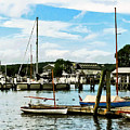 Essex Ct Marina by Susan Savad