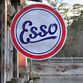 Esso Sign  by Terry DeLuco