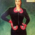 Estela Mora De Albarran by Armando Dreschler