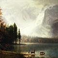Estes Park, Colorado, Whyte's Lake by A Bierstadt