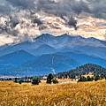 Estes Park From Glen Haven 3 by Robert Meyers-Lussier