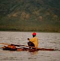 Ethiopia  Baiting A Longline On Lake Chamo by Julian Wicksteed