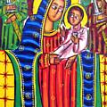 Ethiopian Mary And Jesus by Munir Alawi