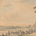 Eton College From The South by Paul Sandby
