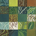 Euca Abstract I by Kerryn Madsen-Pietsch