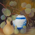 Eucalyptus And Vase by Thuthuy Tran
