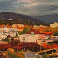 Eugene In Fall by Todd Artist
