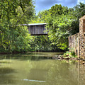 Euharlee Creek Bridge And Mill by Gordon Elwell