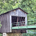 Euharlee Creek Covered Bridge by Gordon Elwell