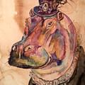 Eunice Hippo by Christy Freeman Stark