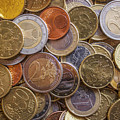 Euro Coins by D R