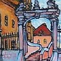 Europe Church by Todd Artist