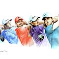 European Golf Champions Race 2017 by Mark Robinson