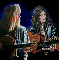 Eva Cassidy And Katie Melua by Bryan Bustard