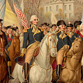 Evacuation Day And Washington's Triumphal Entry In New York City by American School