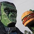 Even Frankie Loves A Burger by Elizabeth Hoskinson