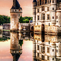 Evening At Chenonceau Castle by Weston Westmoreland