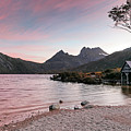 Evening At Dove Lake by Nicholas Blackwell
