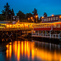 Evening At Friday Harbor by TL  Mair